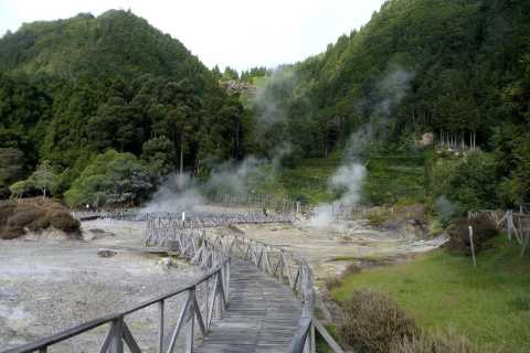 São Miguel: Furnas and Thermal Bath Tour with Lunch