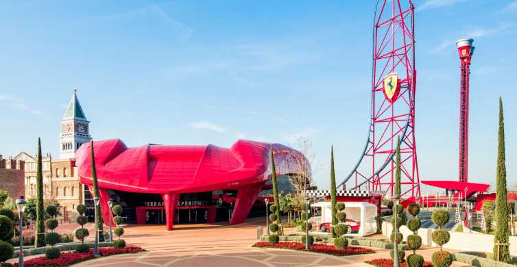 PortAventura and Ferrari Land: Full-Day Trip from Barcelona