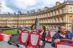 City Sightseeing Bath: Hop-on Hop-off Bus Tour