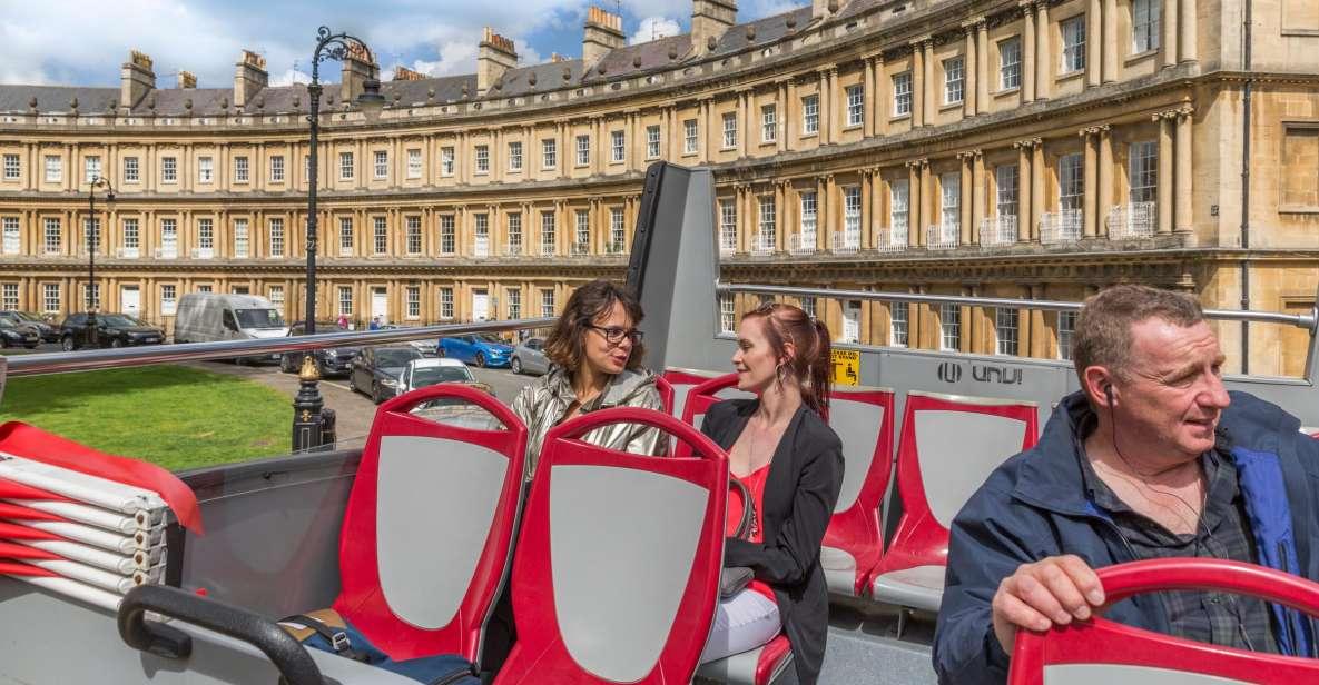 Bath: Hop-On/Hop-Off-Sightseeingbustour