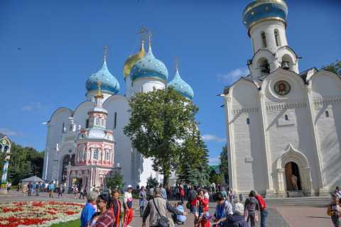 From Moscow: Sergiev Posad (Golden Ring) Private Tour by Car
