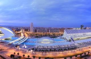 Valencia: L'Hemisfèric, Wissenschaftsmuseum & L'Oceanogràfic