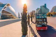 Valência: Ônibus Hop-on-Hop-Off de 48 horas e bilhete Oceanogràfic