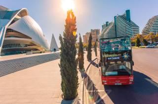 Valencia: 48-Stunden Hop-On-Hop-Off-Bus & Oceanogràfic