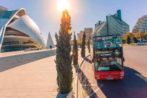 Valencia: 48-Hour Hop-On-Hop-Off Bus & Oceanogràfic Ticket