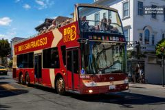 Alcatraz e Big Bus Premium: Ônibus Hop-on Hop-off 1 Dia