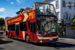 San Fran: Ingresso para Alcatraz e Big Bus City Tour