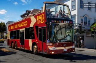 Alcatraz & Big Bus Premium Tagesticket Hop-On/Hop-Off-Bus
