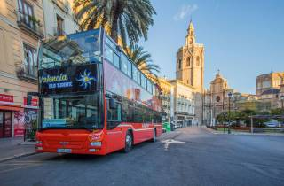 Valencia: 48 Stunden Hop-On/Hop-Off Bus und San Nicolás