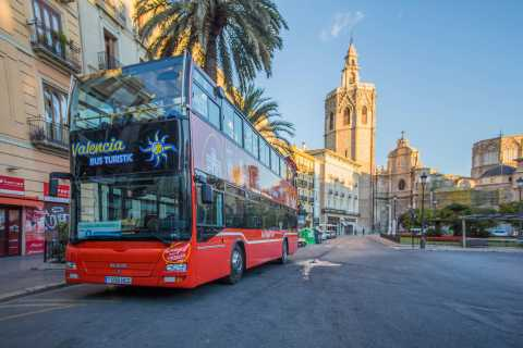 Valencia: 48 hour Hop-On-Hop-Off Bus Ticket and San Nicolás