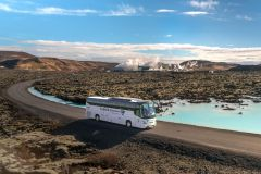 De Reykjavik à Lagoa Azul: Traslado de Ida e Volta