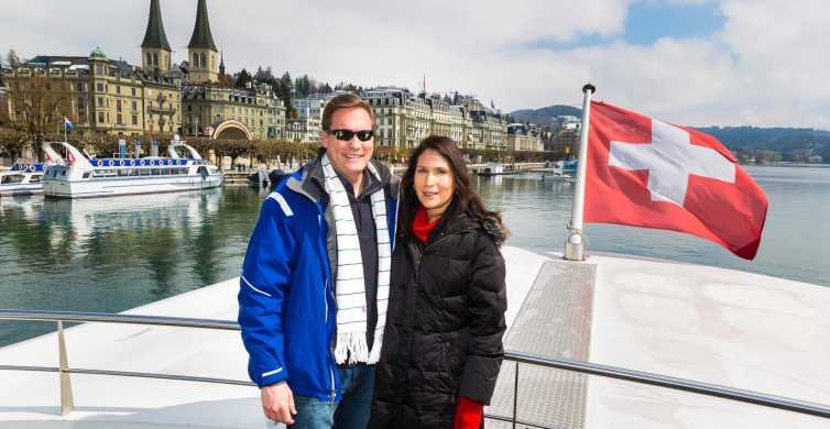 The Total Swiss Experience: Lucerne Boat & Walking Tour
