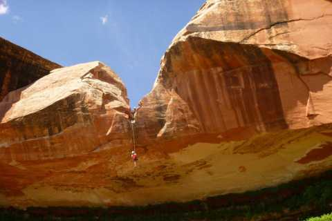 Moab: Morning or Afternoon Half-Day Rappelling Tour