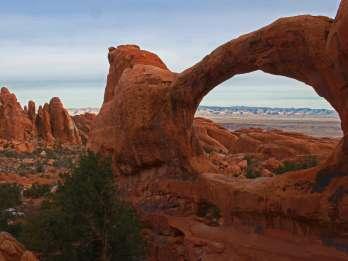Von Moab: Ganztägige Canyonlands und Arches 4x4-Fahrradtour