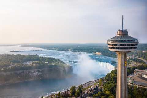 Cataratas del Niágara: mirador de la Torre Skylon