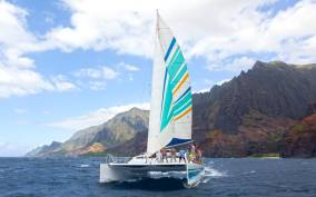Kauai: Napali Coast Sail & Snorkel Tour from Port Allen
