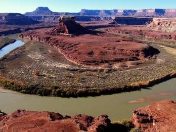 Von Moab: Halbtägige Canyonlands Island in the Sky 4x4 Tour