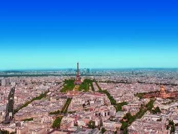Tour Montparnasse: Ticket für die Dachterrasse