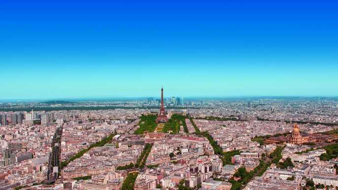 Azotea de la torre Montpanasse: París en 360 grados