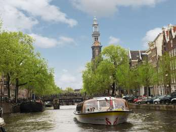 Amsterdam: Grachtenfahrt & Keukenhof Ticket mit Transfer