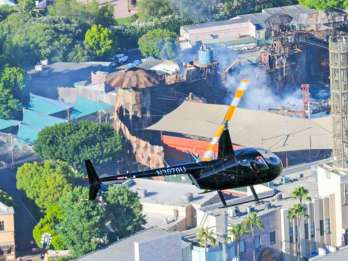 Beverly Hills und Hollywood: Helikopter-Tour