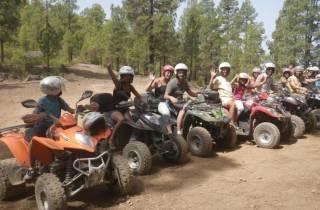 Ab Playa de las Americas: Quad-Tour im Wald