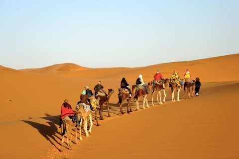 From Fes: 2-Day Merzouga Desert Excursion