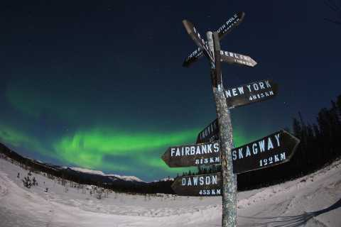 Whitehorse: 4-Day Northern Lights Viewing and City Tour