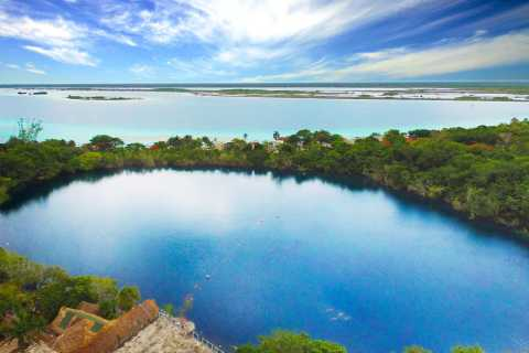 Bacalar Tour (Lake of Seven Colors) From Cancun