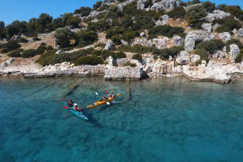 Kas: Kekova and Simena Sunken City Sea Kayaking
