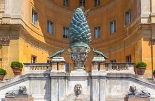 Rom: Kleine Vatikanische Museen und Basilika mit Abholung