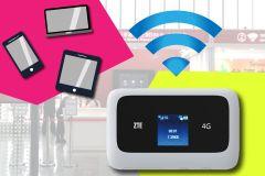 Taiwan: Aluguel ilimitado de Wi-Fi de bolso (TPE Airport Pickup)