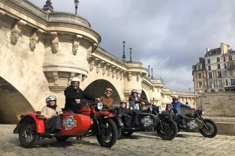 Paris: Best of Paris och Versailles Private Tour av Sidecar