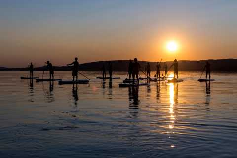 Lake Balaton: Sunset SUP Tour Tihany