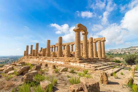 Agrigento: entrada al valle de los Templos