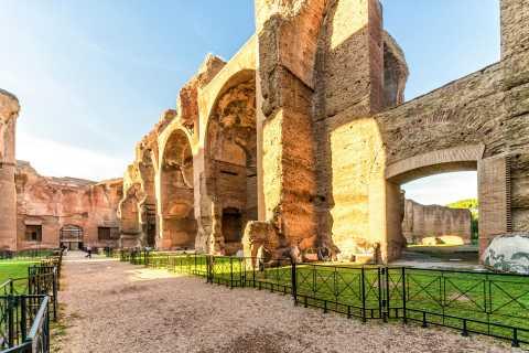 Roma: entrada a las termas de Caracalla
