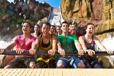 From LLoret de Mar: Full-Day Trip to PortAventura Theme Park