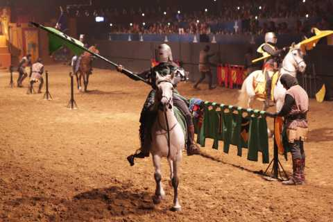 Lloret de Mar: Medieval Show with Dinner