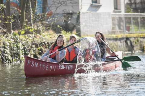 Leipzig: 3-Hour City Canoe Tour