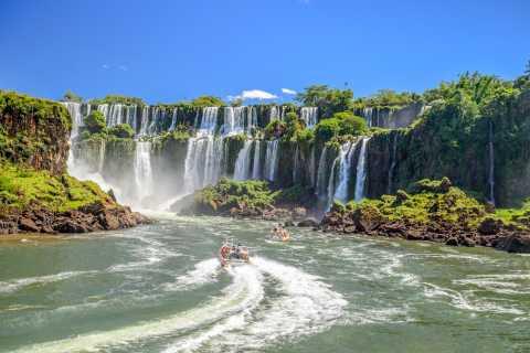 From Foz do Iguaçu: Argentinian Iguazu Falls with Boat Ride