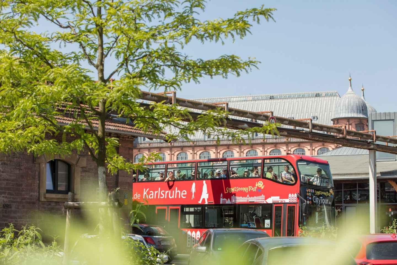 Karlsruhe: 24-Stunden-Ticket Hop-On-Hop-Off-Sightseeing-Bus
