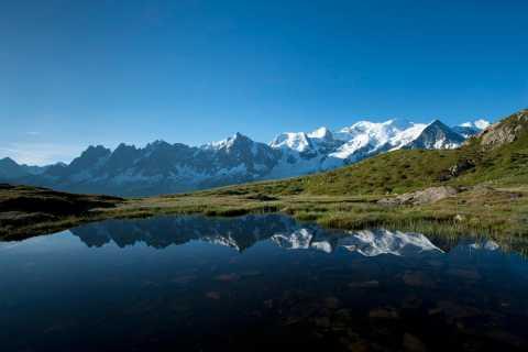 Chamonix: randonnée avec vue sur le mont Blanc