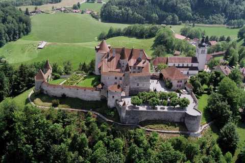 Genf: Schokoladenverkostung & Gruyères Mittelalter-Dorf