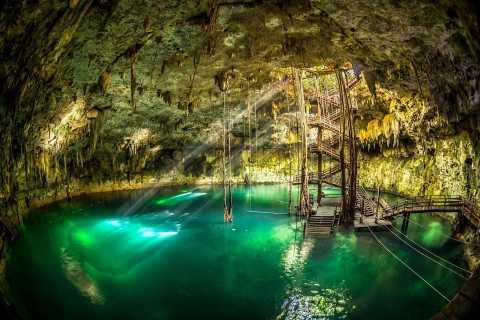 Valladolid: Cenote Maya Native Park Admission Ticket