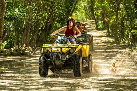 Playa del Carmen: Emociones Tour al Parque Nativo con ATV Ride
