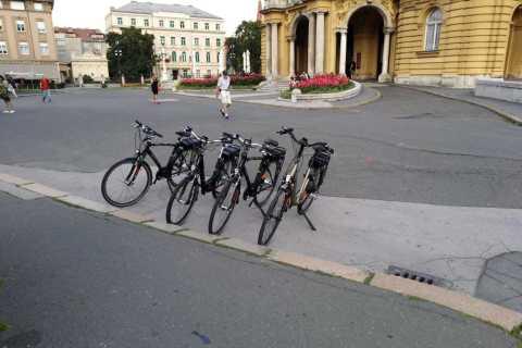 Zagreb: 3.5-Hour Private E-Bike Tour