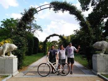 Madrid: Retiro Park und Literaturviertel mit dem Fahrrad