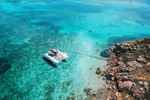 From Palau: La Maddalena Full-Day Archipelago Catamaran Tour
