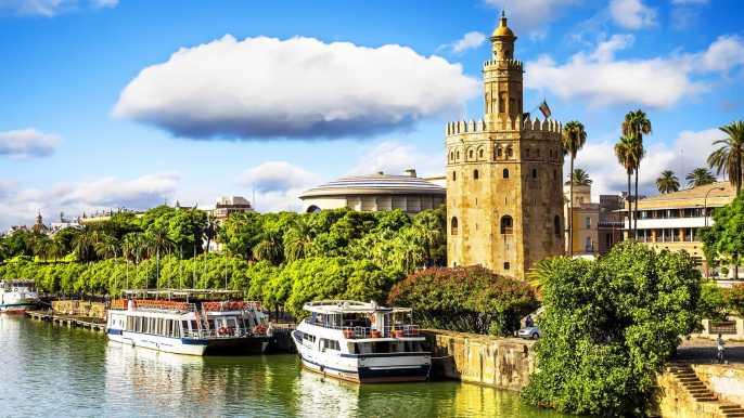 Seville: Historical Walking Tour & Optional Flamenco Show