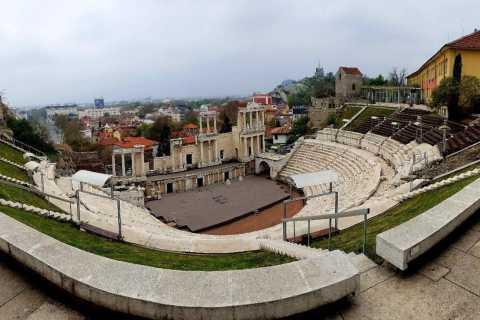 Plovdiv: tour nella città più antica d'Europa + prelievo